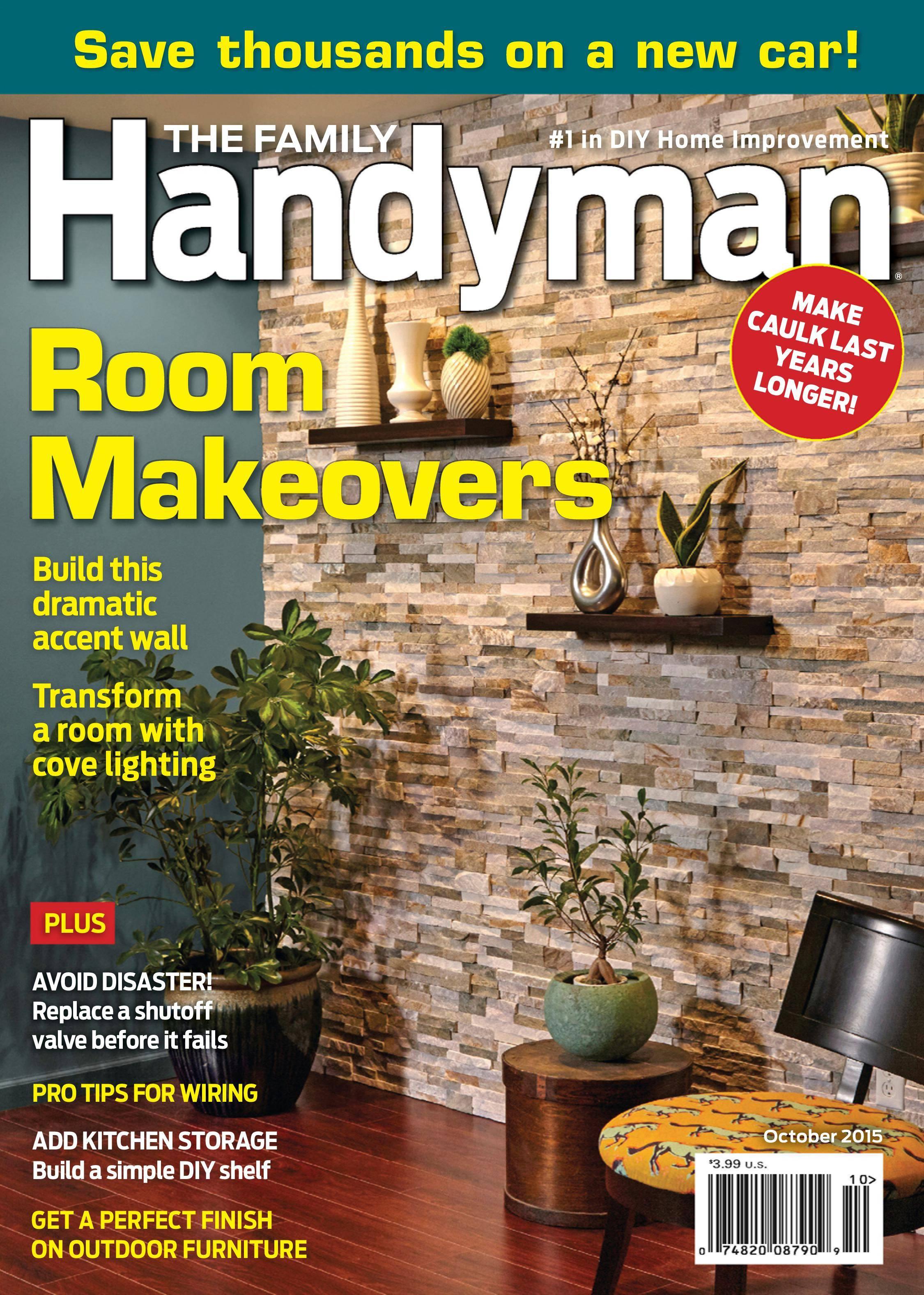 Family Handyman - October 2015