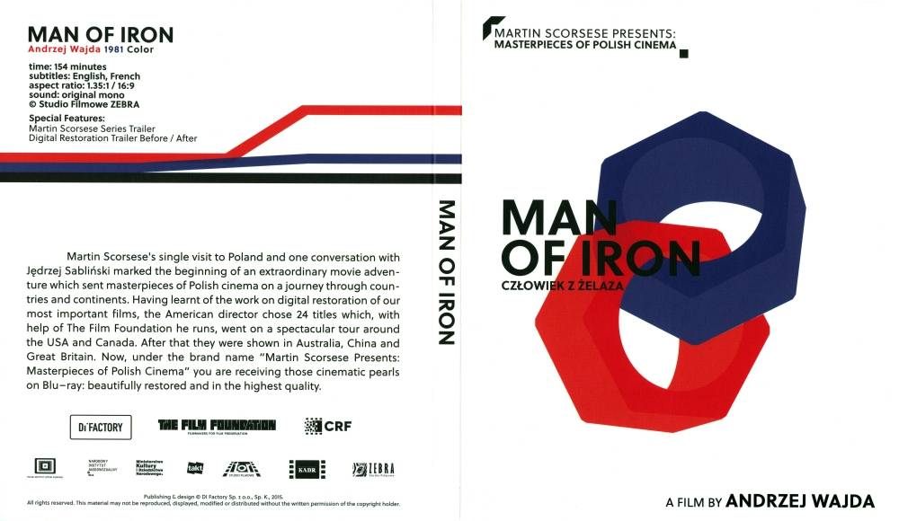 Martin Scorsese Presents: Masterpieces of Polish Cinema Volume 1. Człowiek z Żelaza / Man of Iron (1981)