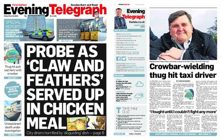 Evening Telegraph First Edition – March 29, 2019