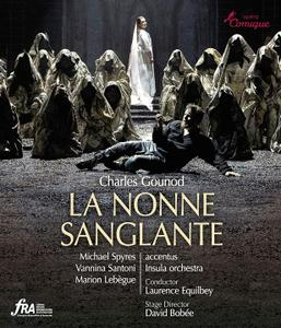 Laurence Equilbey, Insula orchestra - Gounod: La Nonne sanglante (2019) [Blu-Ray]