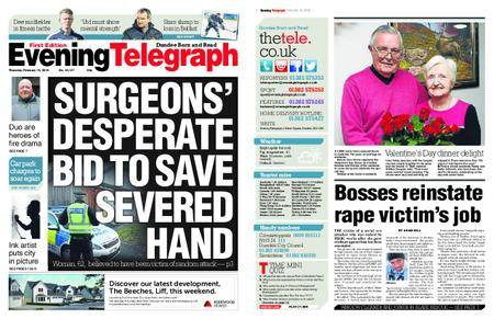 Evening Telegraph First Edition – February 15, 2018