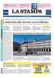 La Stampa Torino Provincia e Canavese - 15 Marzo 2020