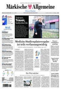 Märkische Allgemeine Dosse Kurier - 20. Dezember 2017