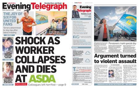 Evening Telegraph First Edition – September 30, 2019