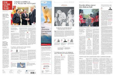 The Globe and Mail – August 28, 2018