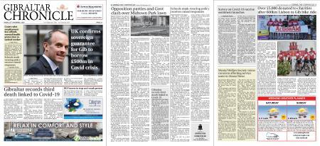 Gibraltar Chronicle – 20 November 2020