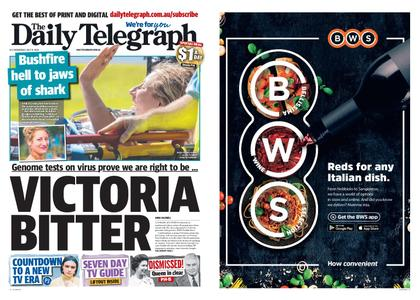 The Daily Telegraph (Sydney) – July 15, 2020