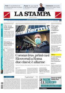 La Stampa Torino Provincia e Canavese - 31 Gennaio 2020