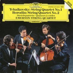 Emerson String Quartet - Tchaikovsky & Borodin: String Quartet No.1&2 (1986) {Deutsche Grammophon}