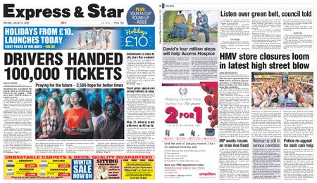 Express and Star City Edition – January 06, 2020