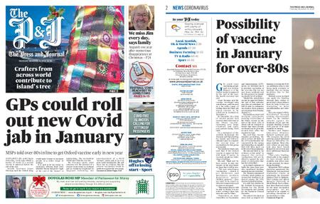 The Press and Journal Moray – December 24, 2020