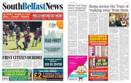 South Belfast News – June 08, 2018