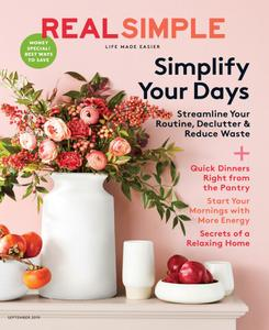 Real Simple - September 2019