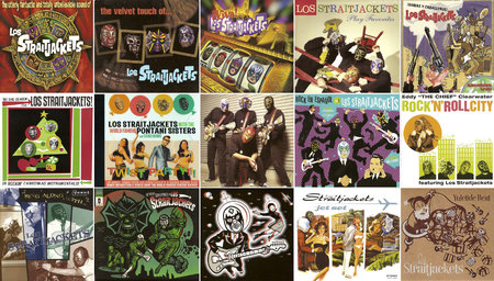 Los Straitjackets - Albums Collection 1995-2014 (16CD) [Re-Up + Upgrade]
