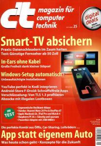 c't Magazin Nr.25 - 24 November 2018