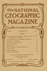 National Geographic 1905-1908