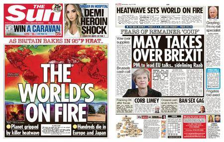The Sun UK – 25 July 2018