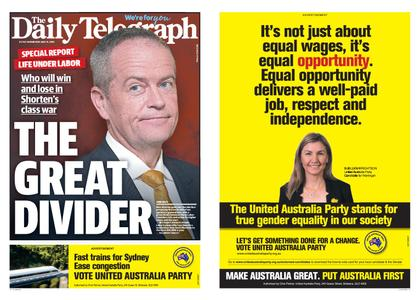 The Daily Telegraph (Sydney) – May 15, 2019