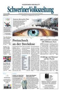 Schweriner Volkszeitung Hagenower Kreisblatt - 21. Februar 2018