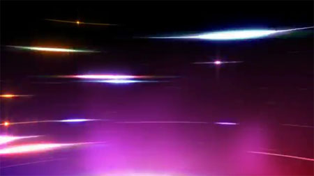 Fast Curved Multicolor Streak Lights (HD) - Footage for After Effects (Videohive)