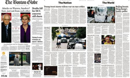 The Boston Globe – July 30, 2019