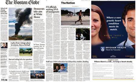 The Boston Globe – October 03, 2019