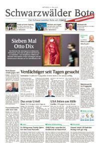 Schwarzwälder Bote Hechingen - 31. Juli 2019