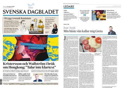 Svenska Dagbladet – 25 augusti 2019