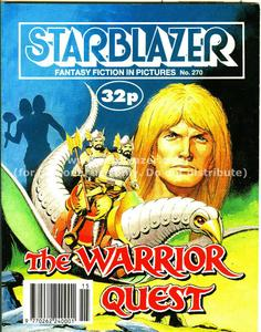Starblazer 270-The Warrior Quest 1990 PDFrip