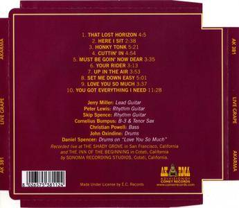 Moby Grape - Live Grape (1978) Remastered 2007