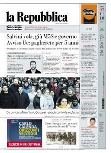 la Repubblica - 2 Novembre 2018
