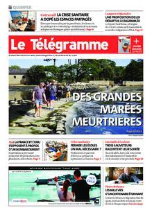 Le Télégramme Quimper – 31 mars 2021