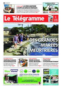 Le Télégramme Brest – 31 mars 2021