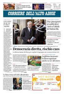 Corriere dell'Alto Adige - 27 Luglio 2018