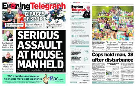 Evening Telegraph First Edition – November 02, 2018