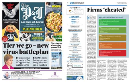 The Press and Journal Moray – October 24, 2020