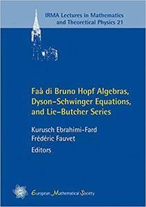 Faa di Bruno Hopf Algebras, Dyson-schwinger Equations, and Lie-butcher Series