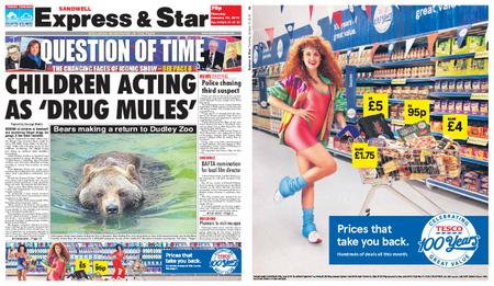 Express and Star Sandwell Edition – January 10, 2019
