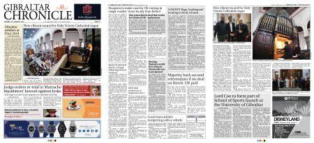 Gibraltar Chronicle – 16 January 2018