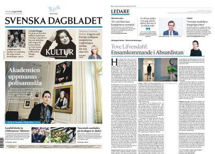 Svenska Dagbladet – 08 april 2018