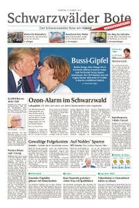 Schwarzwälder Bote St. Georgen, Triberg, Furtwangen - 27. August 2019