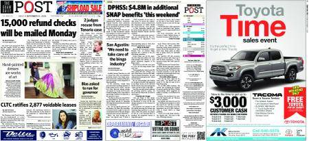 The Guam Daily Post – September 21, 2018