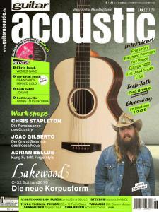 Guitar Acoustic - Nr.6 2019