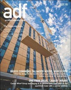 Architects Datafile (ADF) - March 2018
