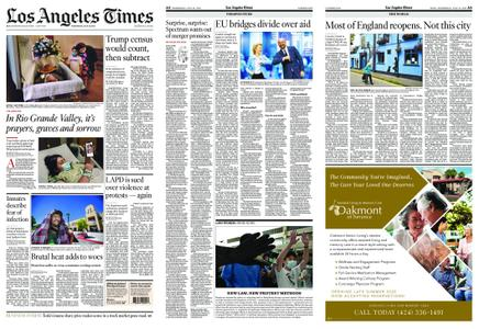 Los Angeles Times – July 22, 2020