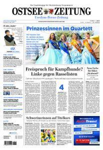 Ostsee Zeitung Wolgast - 09. April 2018