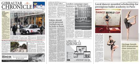 Gibraltar Chronicle – 16 September 2019