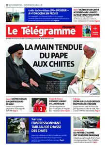 Le Télégramme Ouest Cornouaille – 07 mars 2021