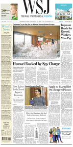 The Wall Street Journal – 12 January 2019