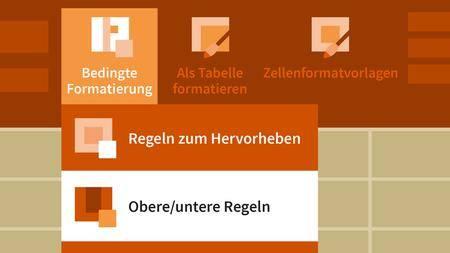 Video2Brain - Excel 2013: Formatierungstechniken